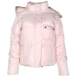 EUC Burberry hooded puffer coat